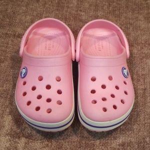 Pink Crocs Toddler Girls Size 9